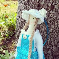 IMG_20160622_194049 (Blossoms_handmade) Tags: doll handmade fabricdoll tildas tildastyle handmadedoll