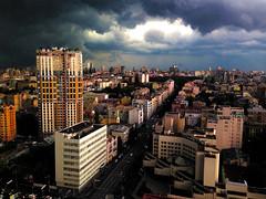 Storm in Kiev, Ukraine. (Dimitri Kruglikov) Tags: storm rain weather hurricane ukraine gale assault twister tornado kiev kyiv thunder typhoon whirlwind