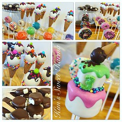 Sweet shop (Kim's Sweet Karma) Tags: candy donuts icecream sweetshop candyland icecreamcones fudgesicle cakepops kimssweetkarma