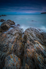 Jete @Banyuls (Benjamin MOUROT) Tags: longexposure france nature rock french landscape view pov paysage lente francia rochers languedocroussillon filtre banyuls pyrnesorientales poselongue nd1000 leefilter nd110 retardateur photoshopcs3 1018mm faguo canon70d benjaminmourot lightroom5 capdecastell