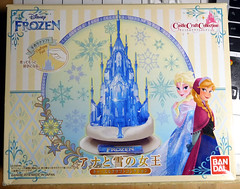 If You Have To Tell Me that Crafting Is Fun, There's a Problem with Me Buying This Kit (largo621) Tags: model kit bandai frozen castlecraft ice palace elsa disney