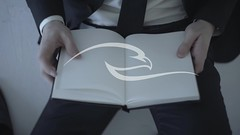Businessman Holding A Blank Page (alekseiptitsa) Tags: people white man male sign businessman paper person corporate reading one idea book holding hands education hand message empty text communication business suit blank page document letter concept manager hold notepad