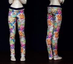 Handmade Pony Leggings for Unoa (customlovers) Tags: doll pony bjd dollfie leggings mylittlepony msd unoa lusis abjs