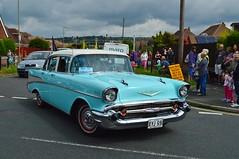 Chevrolet (PD3.) Tags: street white castle fun harbour band hampshire lane hart float gala floats fareham portchester hants