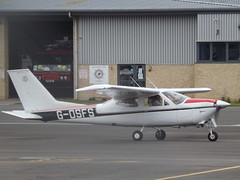 G-OSFS Cessna 177RG (Aircaft @ Gloucestershire Airport By James) Tags: james airport gloucestershire cessna lloyds 177rg egbj gosfs