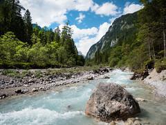 Wimbachgries (Simon Neutert) Tags: summer nature water river germany bayern deutschland bavaria berchtesgaden wasser outdoor stones natur glacier bach fels stein wandern roche felsen wanderung klamm wimbachklamm berchtesgadenerland wimbach
