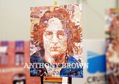 IMAGINE. (tommypatto ~ IMAGINE : We fear a European breakup) Tags: art liverpool paintings johnlennon artworks anthonybrown