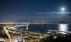 Golfo di Napoli (Daniele Muollo) Tags: night napoli vesuvio golfo eisenhower