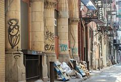 At the back door (tmattioni) Tags: philadelphia graffiti