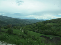 Lush green valley, highway climbing to Peter highland, Serbia (Paul McClure DC) Tags: scenery serbia balkans srbija zlatibor peter may2016