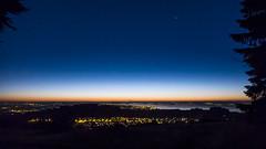 Bodensee (- Lythy -) Tags: see nacht blauestunde cloudsstormssunsetssunrises