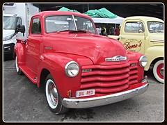 Chevrolet 3100, 1950 (v8dub) Tags: chevrolet 3100 1950 schweiz suisse switzerland fribourg freiburg american pkw voiture car wagen worldcars auto automobile automotive chevy pritsche up pick pickup
