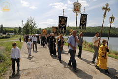 A cross procession from the village of Nikolskoe to the village of Adamovka / Крестный ход из Никольского в Адамовку (42)