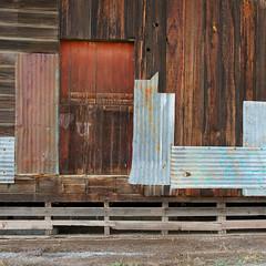 ❤️ U (nedlugr) Tags: california ca door wood tin rustic elevator weathered sanmiguel weatheredwood ruraldecay corrugated loveyou ruralwest heartu