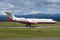 N551TG.GLA250616 (MarkP51) Tags: n551tg gulfstream 550 bizjet corporatejet glasgow airport gla egpf scotland aviation aircraft airplane plane image markp51 nikon d7200