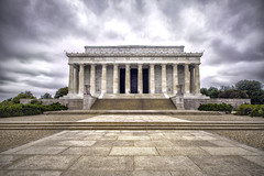 Lincoln Memorial - DC (Lord is Good) Tags: dc washington memorial nopeople lincolnmemorial hdr