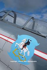 G-BTUB Let ( Yak ) C11 (SPRedSteve) Tags: yak airplane czech aircraft badge soviet era let trainer warbird shobdon c11 gbtub