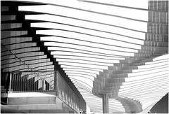 Paseo del Muelle Dos, Malaga, Andalucia, Espana (claude lina) Tags: claudelina espana spain espagne andalucia andalousie malaga architecture ville town paseodelmuelledos