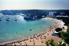 Menorca 1985 (Rune Lind) Tags: 1985 menorca cala galdana sydenferie