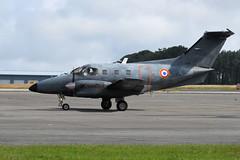 EMB.121 Xingu,  092/YL (30/06/16) (WestwardPM) Tags: xingu 092 embraer newquayairport armeedelair frenchairforce emb121 cornwallairportnewquay 092yl