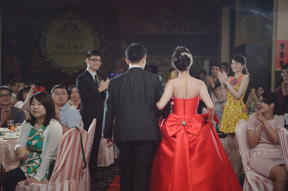 婚禮攝影-台南情定婚宴城堡永康館-46