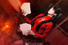 Rin Tohsaka | FATE/STAY NIGHT cos CAMI (CAA Photoshoot Magazine) Tags: portrait anime cosplay wordpress portraiture cosplayer cosplayers  caa fatestaynight rintohsaka cosplayphotography unlimitedbladeworks ronaldoichi cosplayphotographer