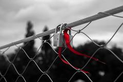 Lock of love (Arnaudphoto1412) Tags: red canon rouge cadenas close belgique lock lige barrire