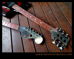 2headz (Harvester Guitars) Tags: metal neck aluminum guitar guitars australia melbourne luthier harvester wandre