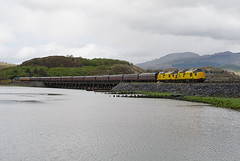 97304, 97303, 2Z41, Pont Briwet (welsh snapper) Tags: wales train locomotive railtour railways gwynedd cambrian steamdreams 973 ertms 97304 97303 pontbriwet thecathedralsexplorer 2z41 pendhyndeudraeth