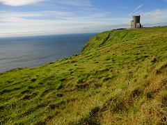 Irish Cliff Castle (RayMuzyka) Tags: ireland cliff moher