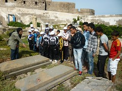 12 May - visit to Christian and Jewish cemeteries 4 (High Atlas Foundation) Tags: cemeteries cemetery community respect tolerance jewish coexistence development essaouira cultural sustainable preservation fha haf civilsociety jewishmuslim capacitybuilding participatorydevelopment