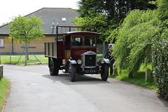 Dennis Truck (kenjonbro) Tags: uk england classic truck 1931 kent centralpark maroon engine pickup petrol dennis dartford 27l worldcars pigswill kenjonbro canoneos5dmkiii canonef70200mm128l1siiusm kj636 overystreet