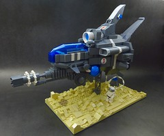 SpearHead - R-type Long Range 2 (SuperHardcoreDave) Tags: fighter lego tech space future scifi spaceship weapons moc starfighter rtype spacefighter