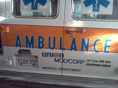 IMG_20130516_0654581980's era Union Oil Molycorp ambulance (mercysoup) Tags: california rescue paramedic ems emt i15 sanbernardino emergencymedicalresponse