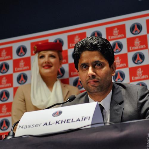 Nasser Al-Khelaïfi, président du Paris Saint-Germain