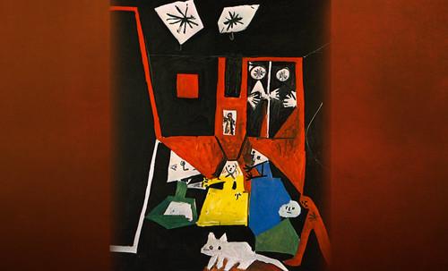 """Meninas, iconósfera de Diego Velazquez (1656), estudio de Francisco de Goya y Lucientes (1778), paráfrasis y versiones Pablo Picasso (1957). • <a style=""""font-size:0.8em;"""" href=""""http://www.flickr.com/photos/30735181@N00/8746859465/"""" target=""""_blank"""">View on Flickr</a>"""