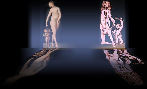 """Venus y Cupido, versiones de los Cranach, el Viejo (1529) maestro fundador de la escuela flamenca, interpretaciones y paráfrasis de Pablo Picasso (1957). • <a style=""""font-size:0.8em;"""" href=""""http://www.flickr.com/photos/30735181@N00/8747890552/"""" target=""""_blank"""">View on Flickr</a>"""