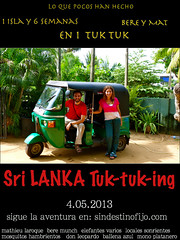 "lanka tuktuking! • <a style=""font-size:0.8em;"" href=""http://www.flickr.com/photos/92957341@N07/8750588594/"" target=""_blank"">View on Flickr</a>"