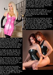 Gatecrasher (Jenni Makepeace) Tags: fetish transformation magic tgirl sissy caption captions mtf tgcaptions tgcaption