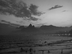 Ipanema Sunset (Yurui.Liu) Tags: travel sunset brazil riodejaneiro ipanema