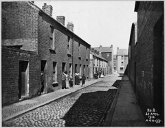 Little York Street Area: Little Henry Street looking towards Henry Street No.s 20 to 29 on plan (Public Record Office of Northern Ireland) Tags: belfast housing northernireland ulster regeneration hogg belfastcorporation proni alexanderrhogg