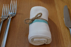 Napkin (mag3737) Tags: table napkin knife tie fork bow