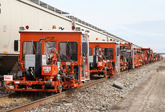 M.O.W.  LINE UP (riverrat18) Tags: railroad trains columbusohio norfolksouthernrailroad buckeyeyard