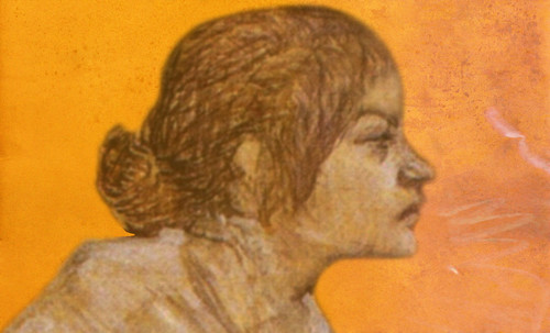 "Las Madeleines escuchando la soleada soledad, descripciones de Henri de Toulouse Lautrec (1889) y Pablo Picasso (1904). • <a style=""font-size:0.8em;"" href=""http://www.flickr.com/photos/30735181@N00/8815726330/"" target=""_blank"">View on Flickr</a>"