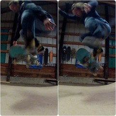 "ollies and kickflip practice tonight • <a style=""font-size:0.8em;"" href=""http://www.flickr.com/photos/99295536@N00/8974178203/"" target=""_blank"">View on Flickr</a>"
