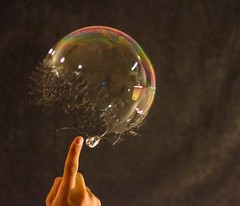Bursting Bubbles in Slow Motion | 1 (ryanzimmerlee) Tags: bubbles stopmotion slowmotion poppingbubbles burstingbubbles