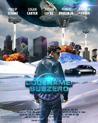 Codename: Subzero (PhilJSci) Tags: city black ice car leather photoshop movie poster fire photography code ship name sub famous alien bottom explosion beam credit hollywood future planet scifi illustrator zero rating hover subzero