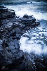 Strong & fragile (Jillpollock) Tags: mer beach rocks waves vagues runion rochers houle larunion iledelarunion reunionisland borddemer rochevolcanique caplahoussaye