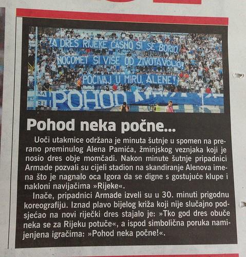 Pohod neka počne (Novi List, 13.07.2013)