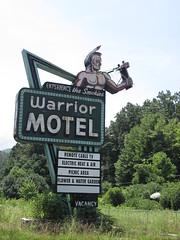 Warrior Motel (maddie_500) Tags: vintagemotelsigns
